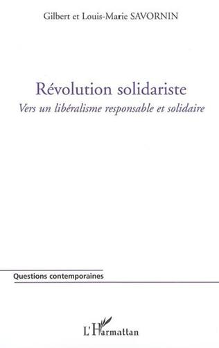 Couverture Révolution solidariste