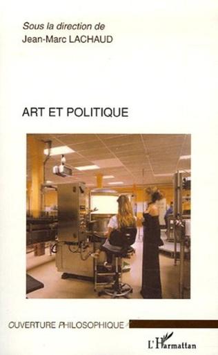 Couverture Art et politique