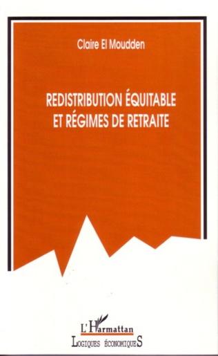 Couverture Redistribution équitable et régimes de retraite