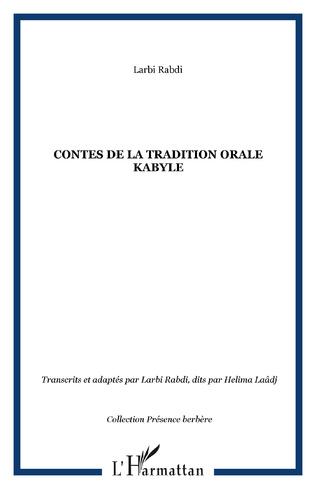 Couverture Contes de la tradition orale kabyle