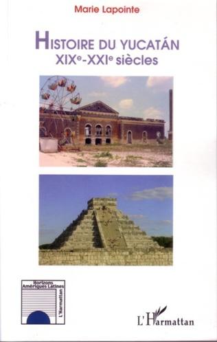 Couverture Histoire du Yucatan
