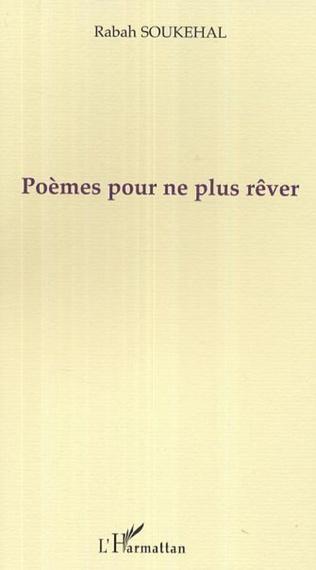Couverture Poèmes pour ne plus rêver