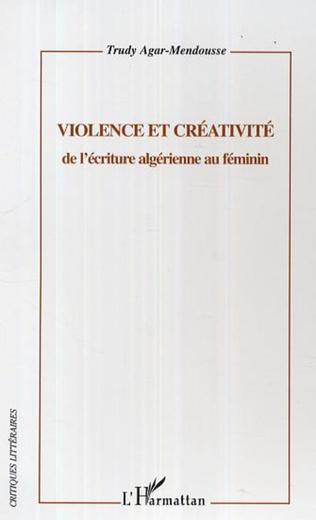 Couverture Violence et créativité