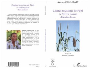 Couverture Contes toussian de Péni (Burkina Faso)