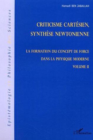 Couverture Criticisme cartésien, synthèse newtonienne