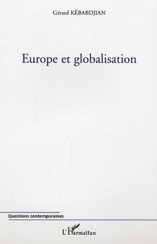 Couverture Europe et globalisation