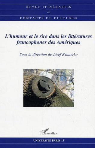 Couverture L'humour et le rire dans les littératures francophones des Amériques