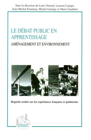 Couverture Le débat public en apprentissage