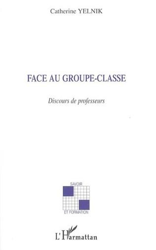 Couverture Face au groupe-classe