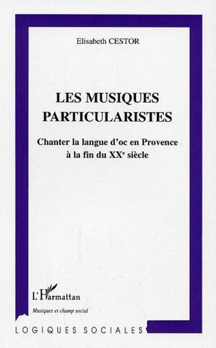 Couverture Les musiques particularistes