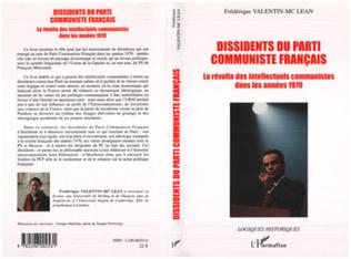 Couverture Dissidents du Parti Communiste Français