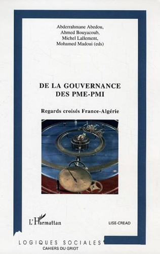 Couverture De la gouvernance des PME-PMI