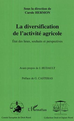 Couverture La diversification de l'activité agricole