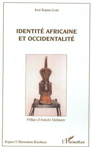 Couverture Identité africaine et occidentalité