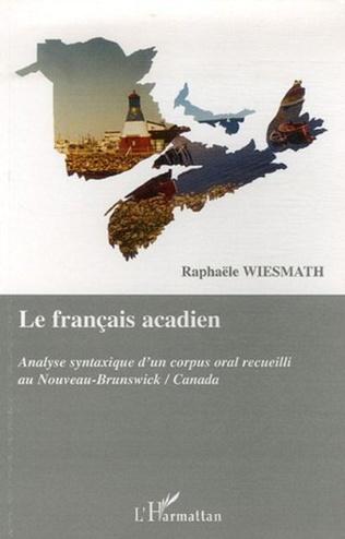 Couverture Le français acadien