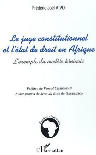 Couverture Contribution éloquente du juge constitutionnel a la protection des droits de la personne au bénin