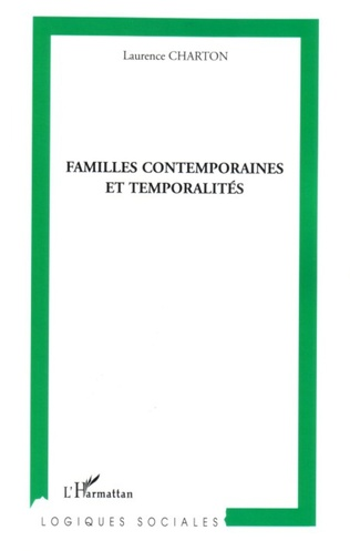 Couverture Familles contemporaines et temporalités