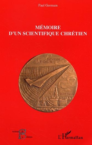 Couverture Mémoire d'un scientifique chrétien