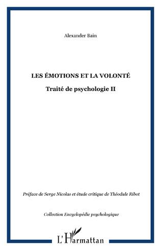 Couverture Les émotions et la volonté
