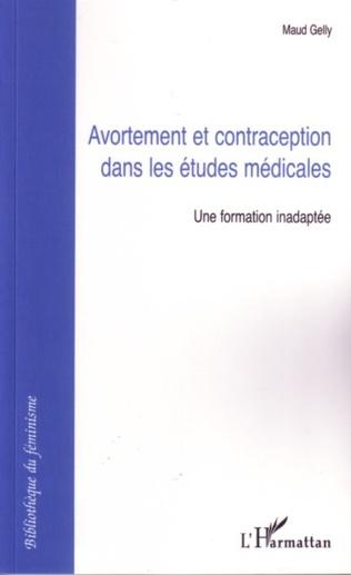 Couverture Avortement et contraception dans les études médicales