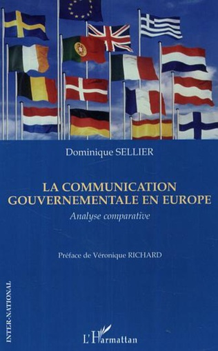 Couverture La communication gouvernementale en Europe