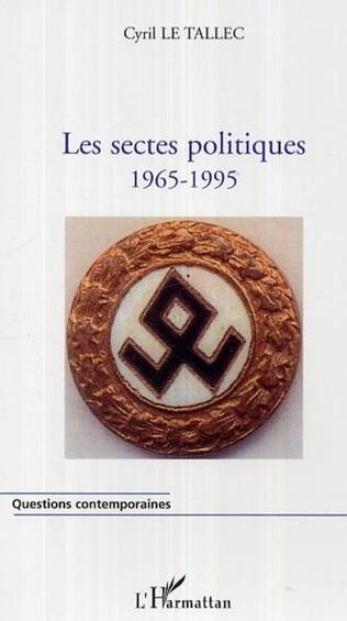 Couverture Les sectes politiques