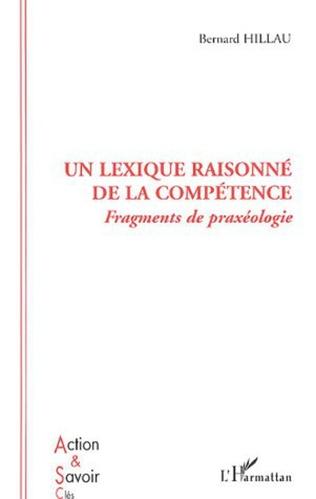 Couverture Un lexique raisonné de la compétence