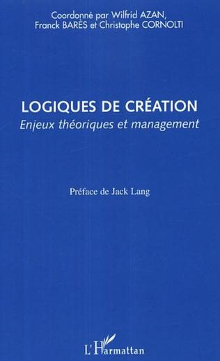 Couverture Logiques de création