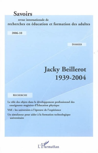 Couverture Jacky Beillerot 1939-2004