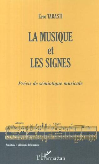 Couverture Les signes dans l'histoire de la musique