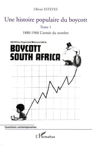 Couverture Une histoire populaire du boycott
