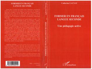 Couverture Former en français langue seconde