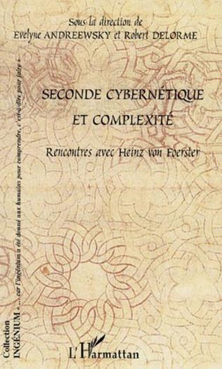 Couverture Seconde cybernétique et complexité