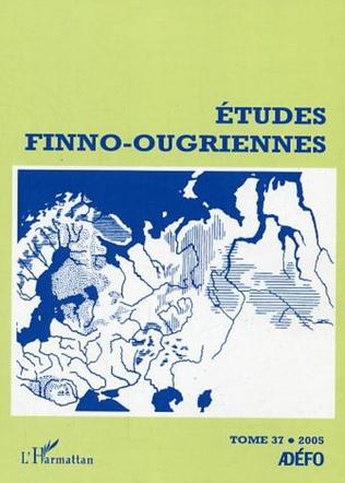 Couverture Etudes finno-ougriennes 37