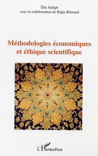 Couverture Méthodologies économiques et éthique scientifique