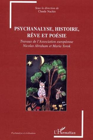 Couverture Psychanalyse, histoire, rêve et poésie