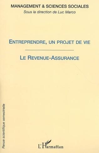 Couverture Entreprendre, un projet de vie