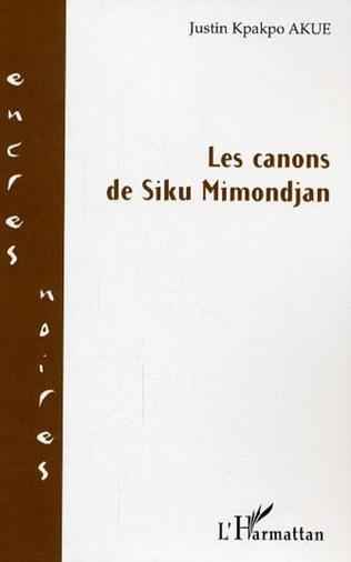 Couverture Les canons de Siku Mimondjan