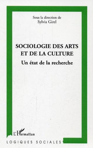 Couverture Sociologie des arts et de la culture