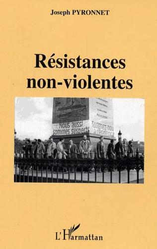 Couverture Résistances non-violentes