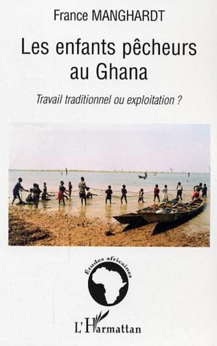 Couverture Les enfants pêcheurs au Ghana