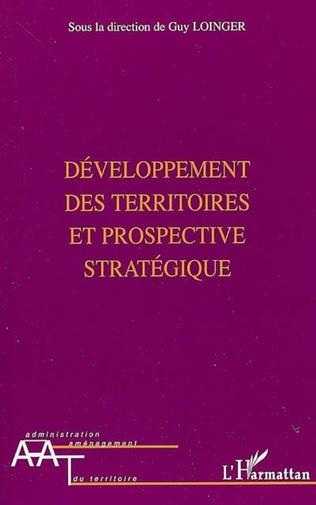 Couverture Développement des territoires et prospective stratégique