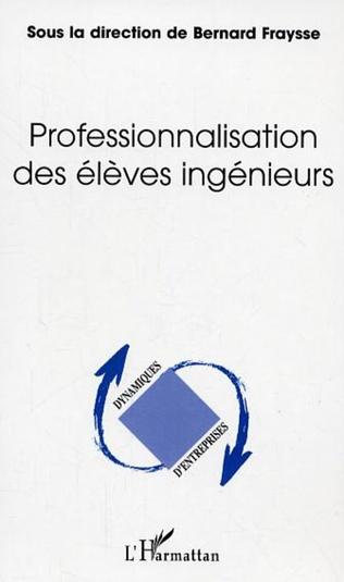 Couverture Professionnalisation des élèves ingénieurs