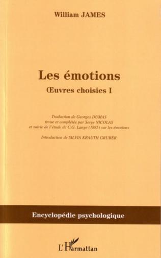 Couverture Les émotions