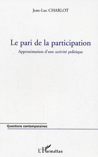 Couverture Le pari de la participation