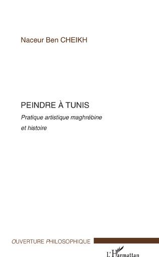 Couverture Peindre à Tunis
