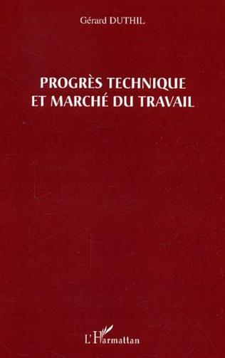 Couverture Progrès technique et marché du travail