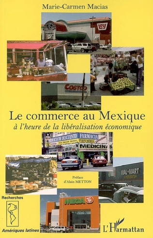 Couverture Le commerce au Mexique