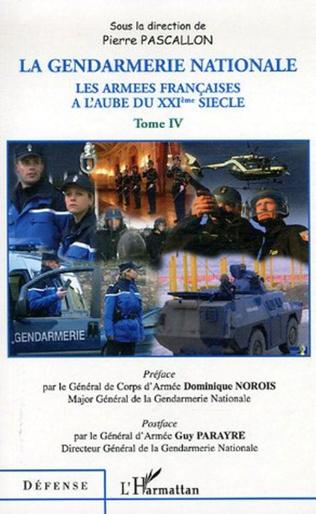 Couverture La gendarmerie nationale