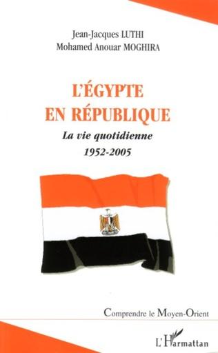 Couverture L'Egypte en République